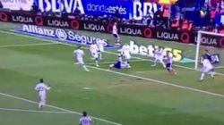 El golazo de chilena del Atlético