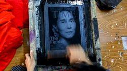 Vuelco histórico en Birmania: el partido de la Nobel Suu Kyi vence a los