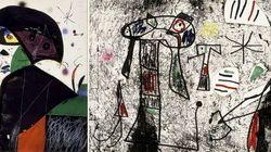 Aparece un Miró extraviado en una empresa de