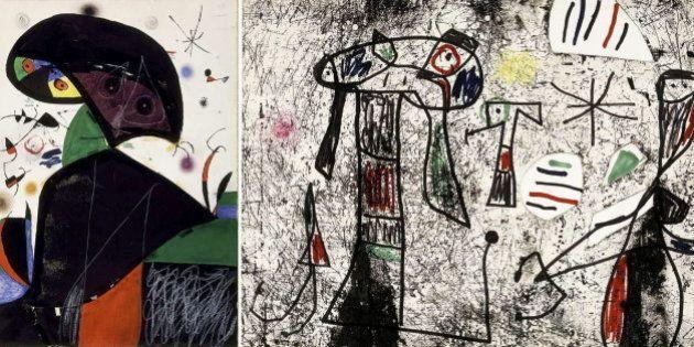 Aparece un Miró extraviado en una empresa de transportes de