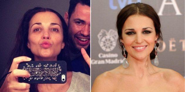 Paula Echevarría sin maquillaje: antes y después en los Goya