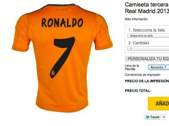 El Real Madrid vestirá de naranja en la Champions League