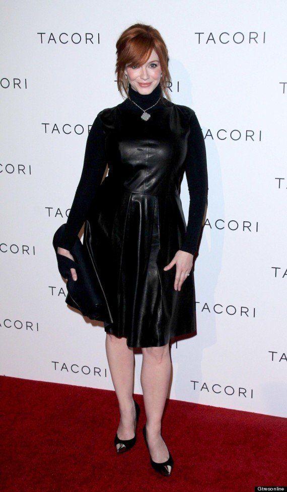 Christina Hendricks: ¿Vestidos con o sin escote?