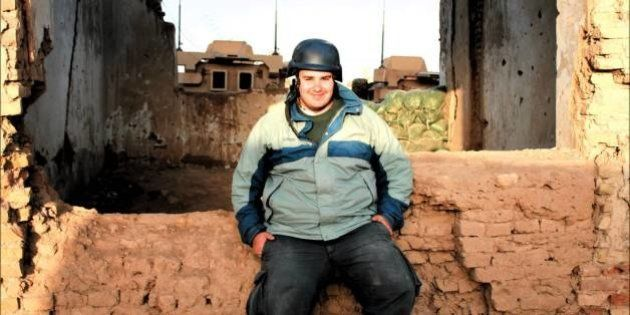 Antonio Pampliega, especialista en informar de conflictos en zonas