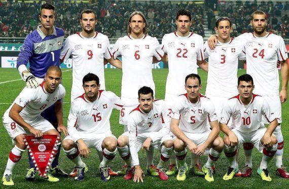 Así sería la selección de fútbol de Suiza sin