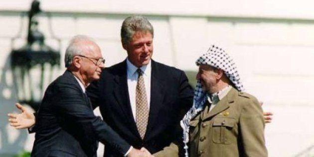 20 años de los acuerdos de Oslo: Hoy, Israel y Palestina siguen muy lejos de la