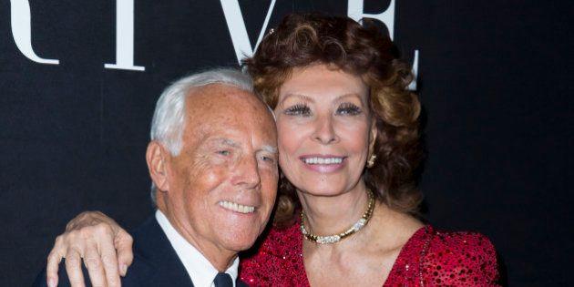 Giorgio Armani cumple 80 años: un hombre rodeado de amigos