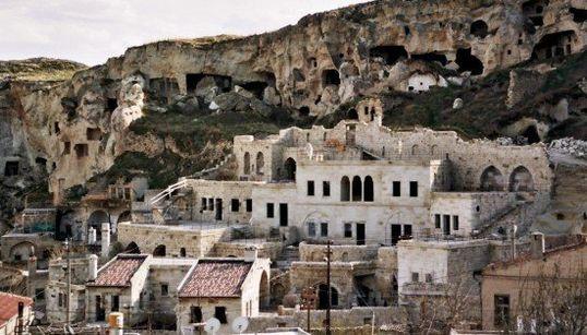 Pueblos excavados en roca