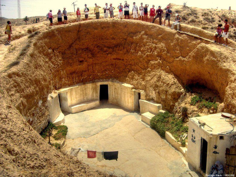 Pueblos del mundo excavados en roca