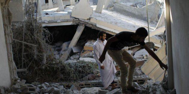 Tres palestinos muertos, dos de ellos menores, en los ataques de madrugada en Gaza