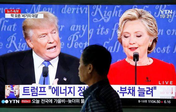 Cuando Hillary barrió a Trump en 'prime