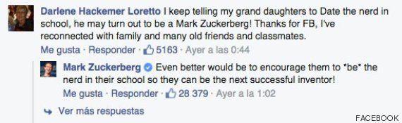 La viral respuesta de Mark Zuckerberg a quien anima a sus nietas a salir con un