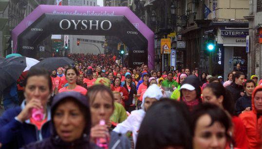 32.000 generosas corredoras peleando contra el cáncer
