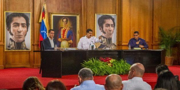 Maduro cambia su Gobierno menos de nueve meses después de