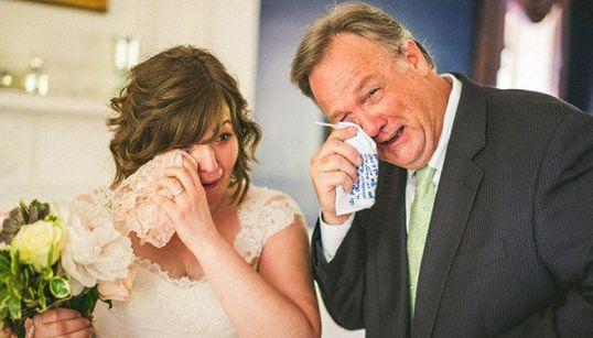 24 padres que no pudieron evitar llorar en la boda de sus hijos