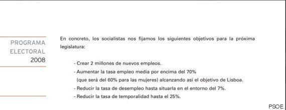 81 veces que PP y PSOE incumplieron sus programas estando en el