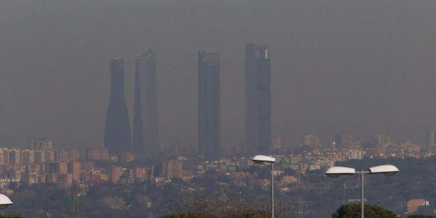 La contaminación en Madrid, en