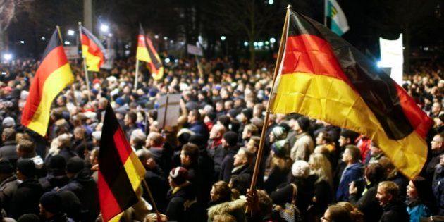 Unos 15.000 manifestantes secundan una marcha islamófoba al este de
