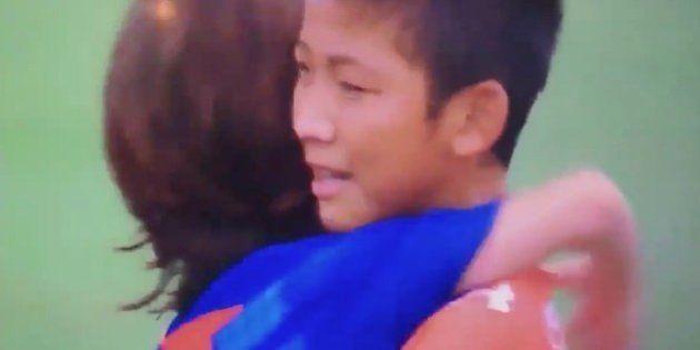 El gesto de los infantiles del Barça que está dando la vuelta al