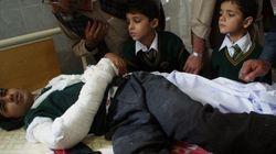 Al menos 132 niños muertos en un ataque a una escuela militar de