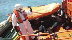 Rescatados más de 200 inmigrantes a bordo de balsas