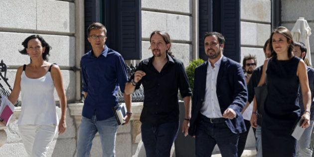 Podemos resume el discurso de Rajoy con esta portada antigua de una