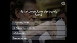¿Te ha convencido el discurso de Rajoy?