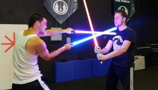 Nos colamos en una academia de 'Star Wars' de Sídney