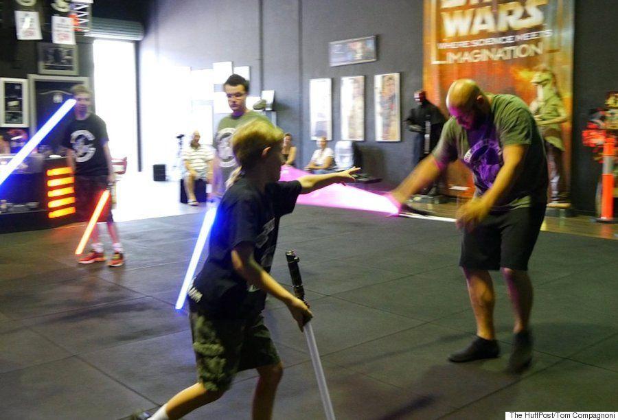 Nos colamos en una academia temática de 'Star Wars' de