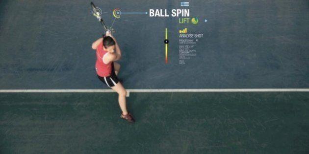 Conecta tu raqueta o balón al móvil y tendrás el mejor