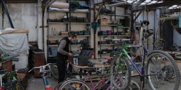 Recicletos, o cómo arreglar tu bici sin dejarte la vida en
