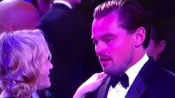 El momento 'Titanic' de Leonardo DiCaprio y Kate Winslet en los Globos de
