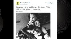El hijo de David Bowie confirma la muerte de su padre con una foto