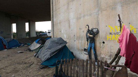 Banksy y Steve Jobs, nuevos aliados de los refugiados sirios en