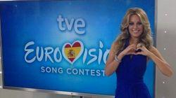 Eurovisión 2015: así se maneja Edurne sobre el escenario