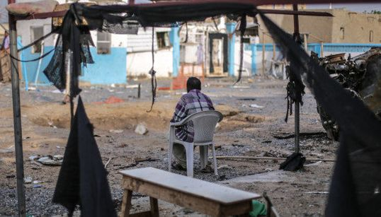 Así ha quedado uno de los hospitales atacados de MSF en
