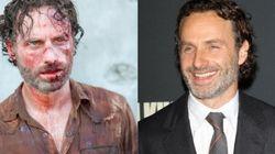 Así son los actores de The Walking Dead cuando están lejos de los
