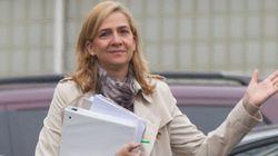 La infanta se equivocó de cuenta al pagar 600.000 euros del caso