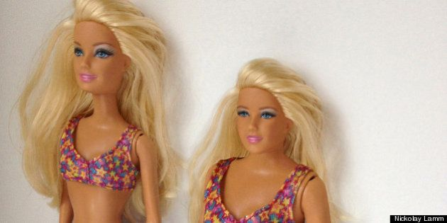 Barbie real: la muñeca con proporciones