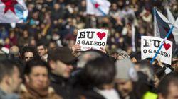 Multitudinaria marcha en Santiago en defensa del uso del
