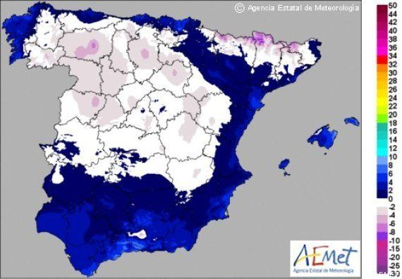 El invierno ha llegado: varios frentes traen temperaturas bajo cero, lluvias abundantes y nevadas