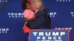Trump sufre la 'cobra' de una niña en un