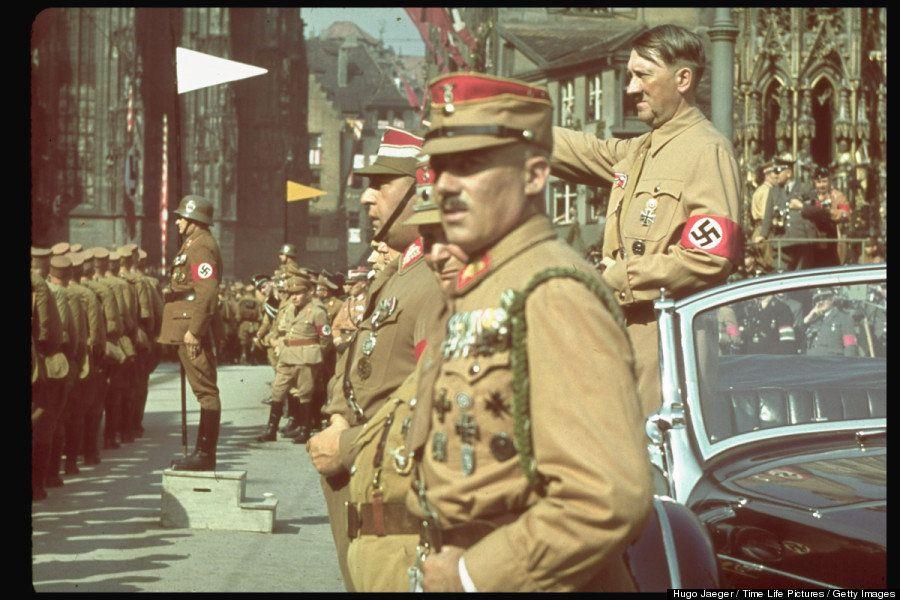 Fotografías de Hitler en color (cuando no existía