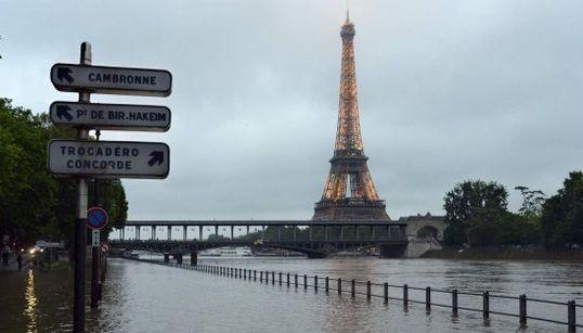 París, en alerta por la crecida del Sena