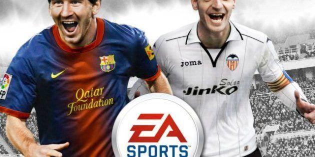 Roberto Soldado acompañará a Leo Messi en la portada del videojuego 'FIFA 13'