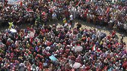 El muro humano que protege a las mujeres de Tahrir