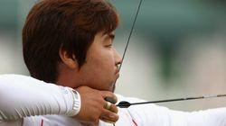 Un arquero clínicamente ciego logra el primer récord mundial de los