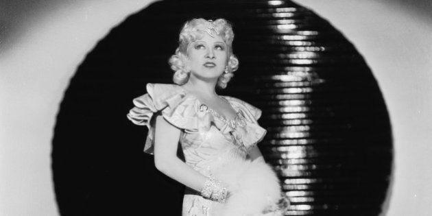 circa 1936: American film star and sex symbol Mae West (1893 - 1980). (Photo via John Kobal Foundation/Getty