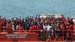Rescatados casi 700 inmigrantes en el