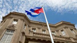 La bandera de Cuba ondea en